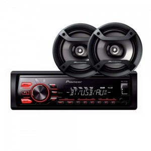 Autoestereo MXT-S216BT + Parlantes